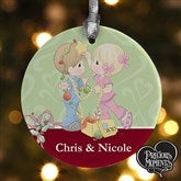 Precious Moments® Personalized Christmas Couple Ornament - 12468