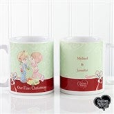 Precious Moments® Personalized Christmas Couple Coffee Mug- 11 oz. - 12469-S