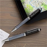 Black Stylus Personalized Ball-Point Pen - 12470