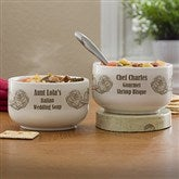 Bon Apetit! Personalized Soup Bowl - 12473