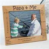 Sweet Grandparents Personalized Photo Frame- 8x10 - 1248-L