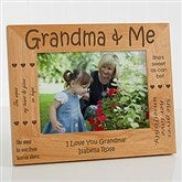 Sweet Grandparents Personalized Photo Frame- 5 x 7 - 1248-M