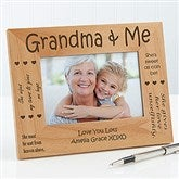 Sweet Grandparents Personalized Photo Frame- 4 x 6 - 1248-S