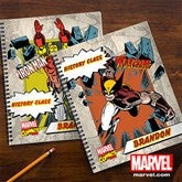 Marvel Retro® Personalized Notebooks-Set of 2 - 12492