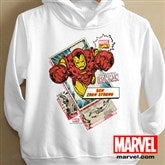Marvel Retro® Youth White Sweatshirt - 12500-YWS