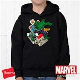 Marvel Retro® Youth Black Sweatshirt - 12500-YBS