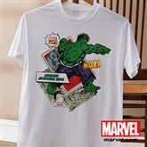 Marvel Retro® Adult White T-Shirt - 12500-AWT