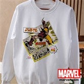 Marvel Retro® Adult White Sweatshirt - 12500-AWS