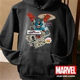 Marvel Retro® Adult Black Sweatshirt - 12500-ABS