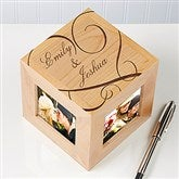 Couple In Love Personalized Photo Cube - 12519