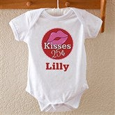 Kisses For $0.25 Personalized Infant T-Shirt - 12520-ITS
