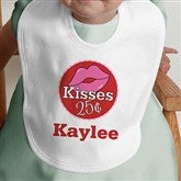 Kisses For $0.25 Personalized Bib - 12520-B