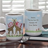 Let's Neck Personalized Coffee Mug- 15 oz. - 12525-L