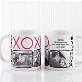 XOXO Personalized Coffee Mug- 11 oz. - 12531-S