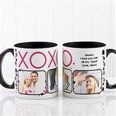 XOXO Personalized Coffee Mug 11oz.- Black - 12531-B