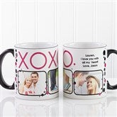 XOXO Personalized Coffee Mug 11oz.- Black - 12531-B