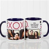 XOXO Personalized Coffee Mug- 11oz.- Blue - 12531-BL
