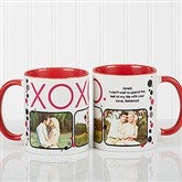 XOXO Personalized Coffee Mug- 11oz.- Red - 12531-R