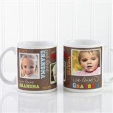 Loving You Personalized Photo Coffee Mug 11 oz.- White - 12536-W