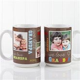 Loving You Personalized Photo Coffee Mug- 15 oz. - 12536-L