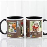 Loving You Personalized Photo Coffee Mug 11oz.- Black - 12536-B