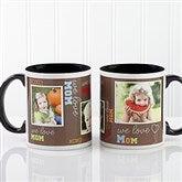 Loving You Personalized Photo Coffee Mug 11oz.- Black - 12536-B