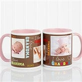 Loving You Personalized Photo Coffee Mug 11oz.- Pink - 12536-P