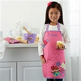 Cupcake Embroidered Kid's Apron