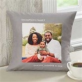Picture Perfect Personalized Keepsake Pillow - One Photo - 12552-1