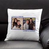 Picture Perfect Personalized Keepsake Pillow - Two Photo - 12552-2