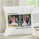 Picture Perfect Personalized Keepsake Pillow - Three Photo - 12552-3