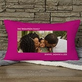 Picture Perfect Personalized Lumbar Photo Pillow - One Photo - 12552-1LB