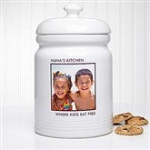 Picture Perfect Personalized Cookie Jar - 1 Photo - 12553-1