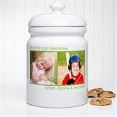 Picture Perfect Personalized Cookie Jar - 2 Photos - 12553-2