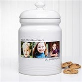 Picture Perfect Personalized Cookie Jar - 3 Photos - 12553-3