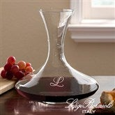 Luigi Bormioli® Engraved Initial Captains Decanter - 12561
