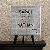 Graffiti Love Personalized Canvas Art-5 1/2