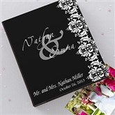 The Wedding Couple Personalized Deluxe Photo Album - 12569
