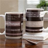 Memory Lane Personalized Birthday Mug - 15 oz. - 12579-L