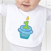 My Little Cupcake Personalized Birthday Infant Bib - 12582-B