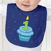 My Little Cupcake Personalized Birthday Baby Bib - 12582-B