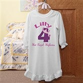 Birthday Princess Personalized Youth Nightgown - 12583NG