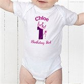 Birthday Princess Personalized Baby Bodysuit - 12583-BB