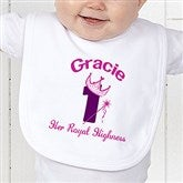 Birthday Princess Personalized Bib - 12583B