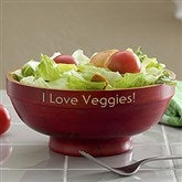 Bamboo Personalized Serving Bowl - Small - 12594-S