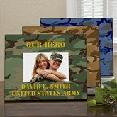 Camo Personalized Frame-Horizontal - 12595-H