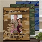 Camo Personalized Frame-Vertical - 12595-V