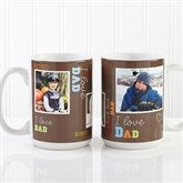Loving You Personalized Photo Coffee Mug 15 oz.- White - 12605-L