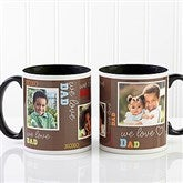 Loving You Personalized Photo Coffee Mug 11oz.- Black - 12605-B