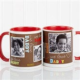 Loving You Personalized Photo Coffee Mug 11oz.- Red - 12605-R